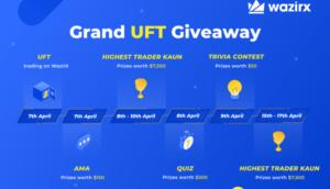 WazirX Will List UniLend (UFT) And Conduct Grand UFT Giveaway